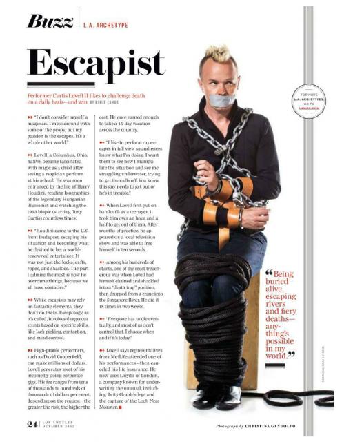 LA Magazine - Escapist