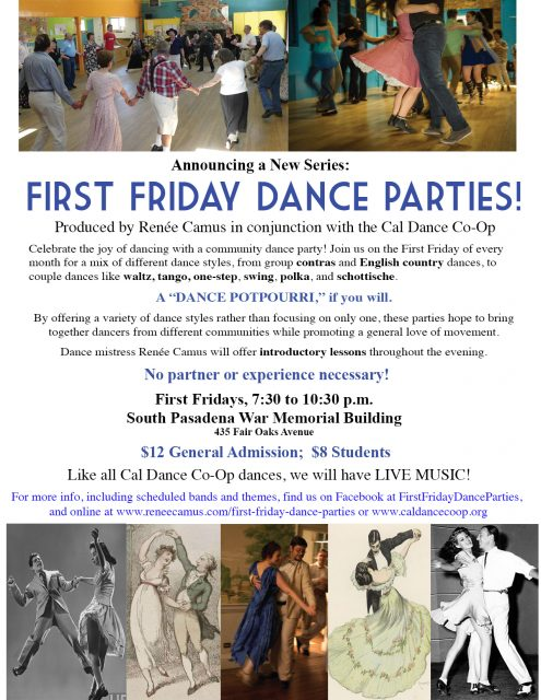 First Friday Dance Party General Flyer