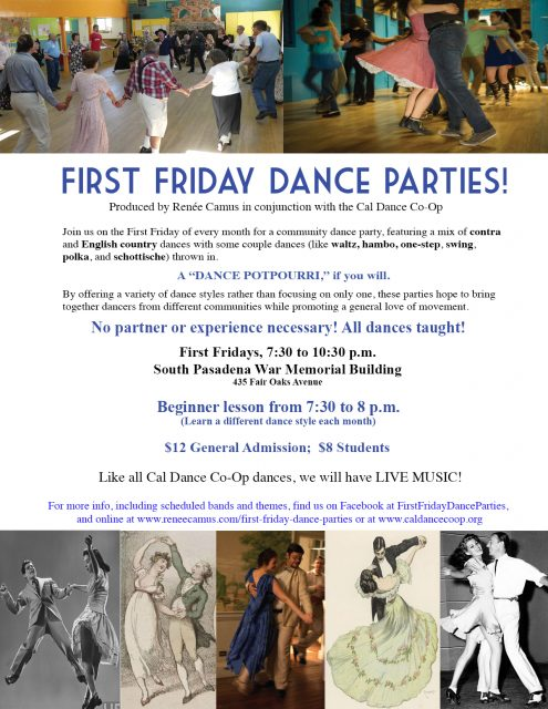 First Friday Dance General Flyer (lesson)